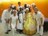 Groupo Ribeiro!! before the show at Alvin Ailey